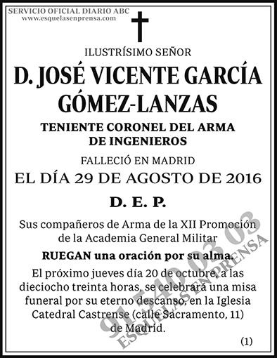 José Vicente García Gómez-Lanzas